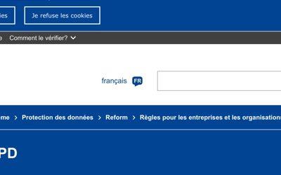 RGPD : comment désactiver les cookies de son navigateur web