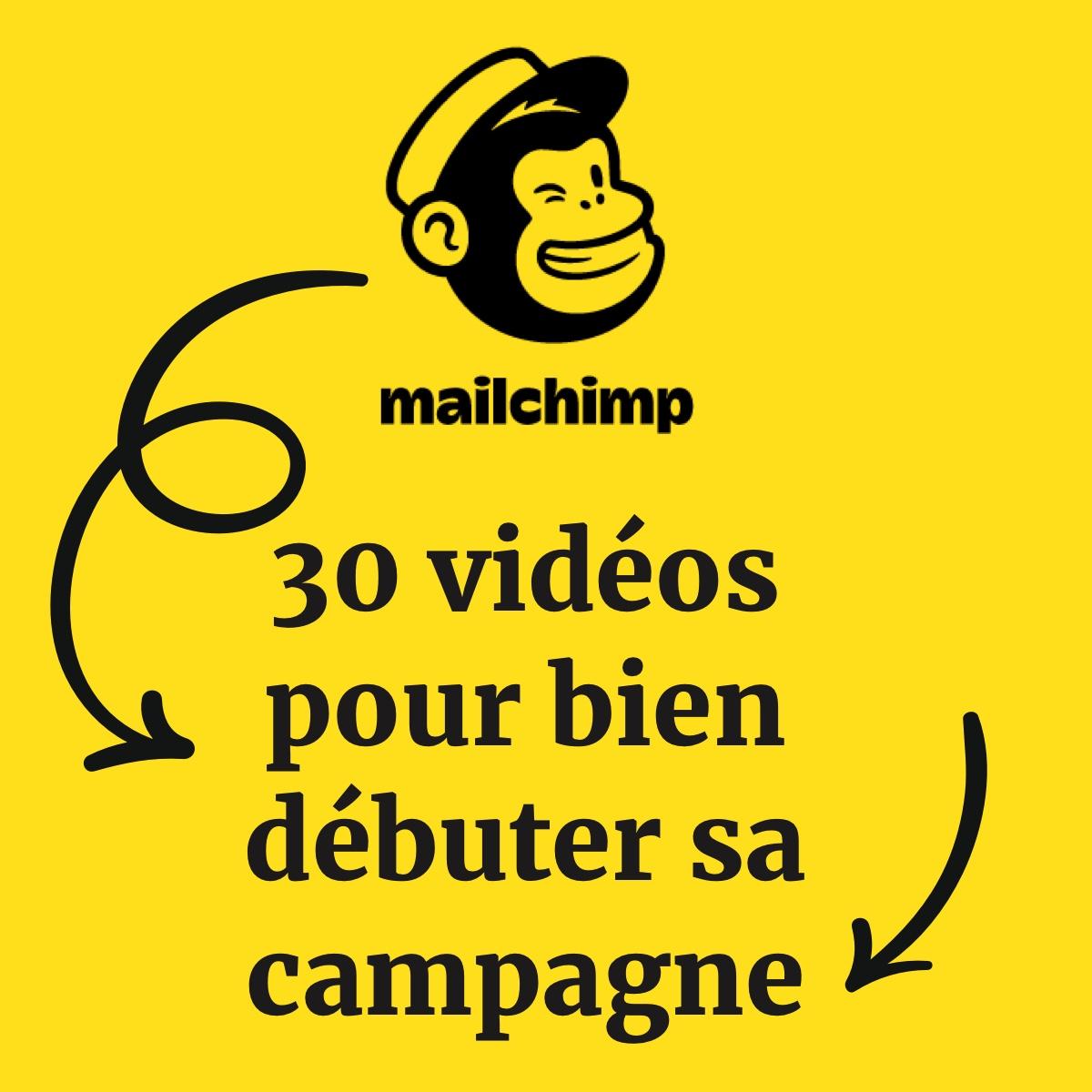 Concevez votre campagne d'emailing  avec la formation Mailchimp