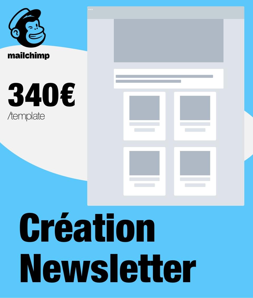 Création de template Mailchimp