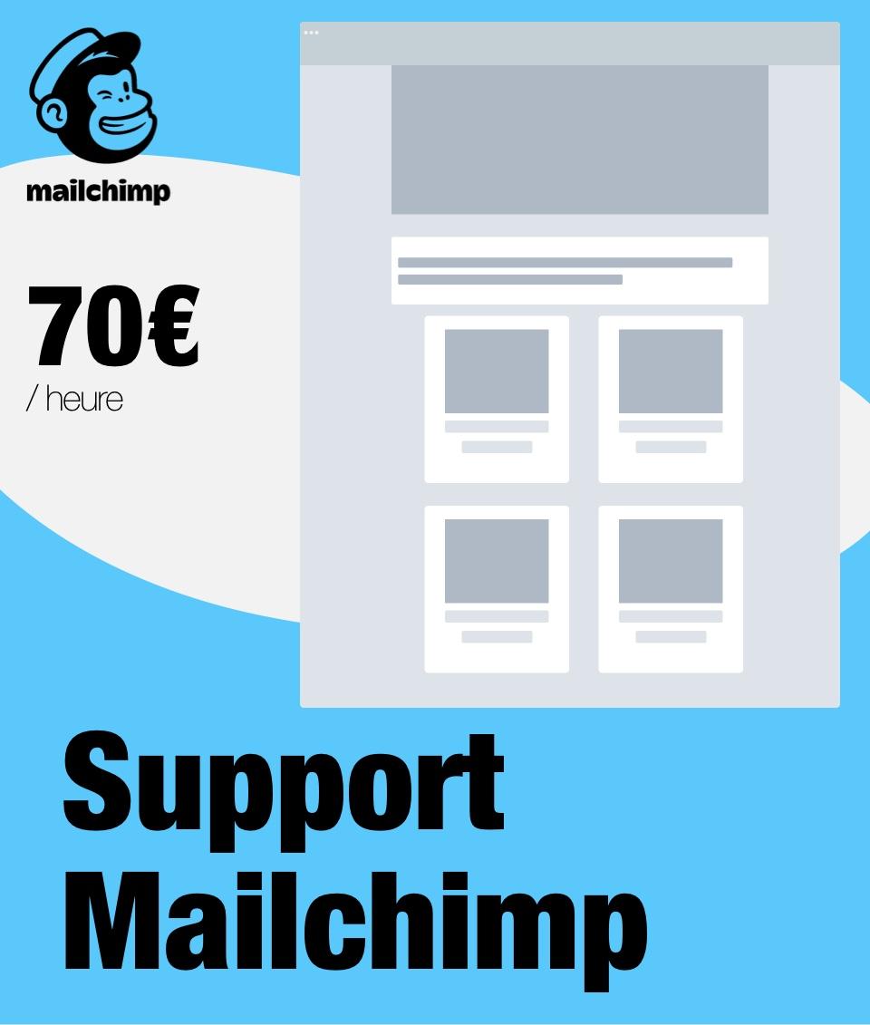 Support à distance Mailchimp